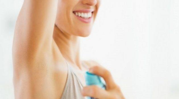 Aluminum in deodorant